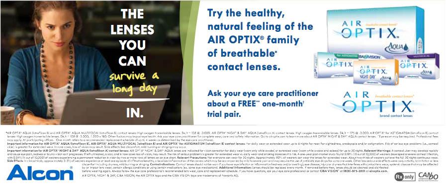 Air Optix 174 For Astigmatism Parrelli Optical